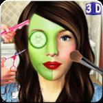Beauty Spa Salon 3D, Make Up & Hair Cutting Games icon