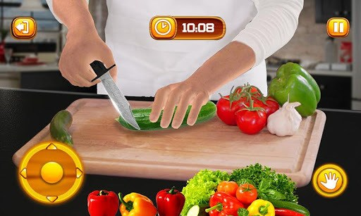 Virtual Chef Cooking Game 3D: Super Chef Kitchen APK screenshot 1