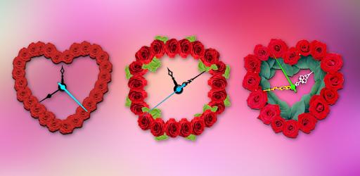 Rose Clock Live wallpaper pc screenshot