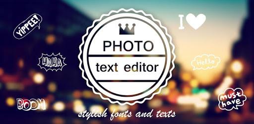 Photo Text Editor pc screenshot