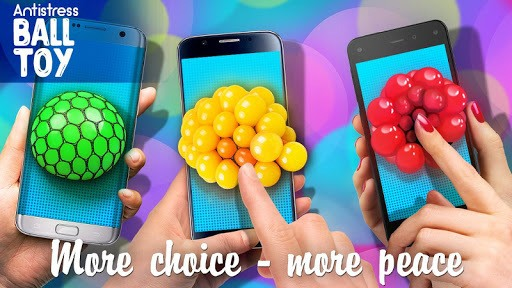 Squishy toys: stress ball APK screenshot 1