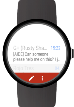 Mail for Wear OS (Android Wear) & Gmail APK screenshot 1
