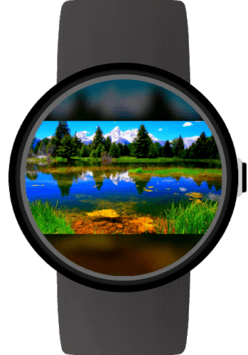 Photo Gallery for Wear OS (Android Wear) APK screenshot 1