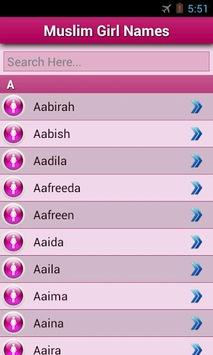 Muslim Baby Names and Meaning! APK screenshot 1