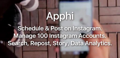 Apphi - Schedule Posts for Instagram pc screenshot