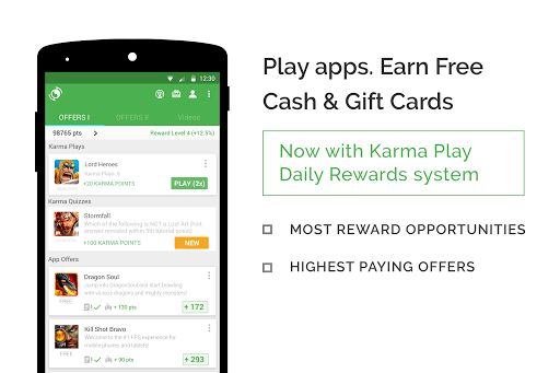 appKarma Rewards & Gift Cards APK screenshot 1