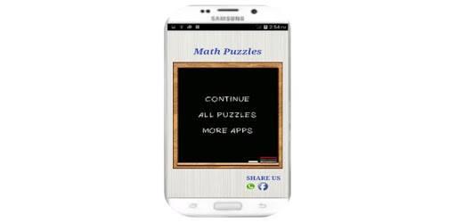 Math Puzzles pc screenshot