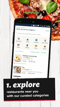 Zomato Order - Food Delivery App APK screenshot 1