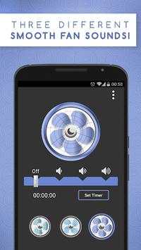 Sleep Aid Fan - White Noise Fan Background Sounds APK screenshot 1