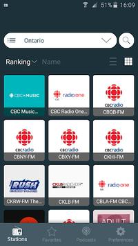 Radio Player Canada: Internet Radio Player App APK screenshot 1