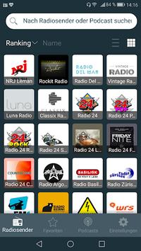 Radio Online - Radio FM Swiss APK screenshot 1
