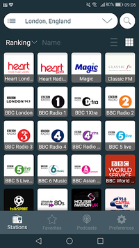 Radio UK - Free Radio FM, Internet Radio Online APK screenshot 1