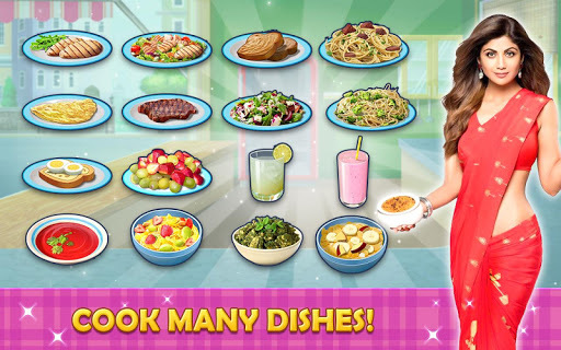 Kitchen Tycoon : Shilpa Shetty - Cooking Game APK screenshot 1