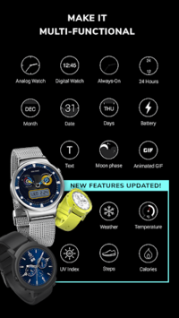 MR.TIME - Free Watch Face Maker APK screenshot 1