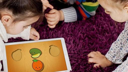 Baby Wooden Blocks Puzzle APK screenshot 1