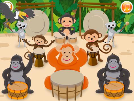 Baby musical instruments APK screenshot 1