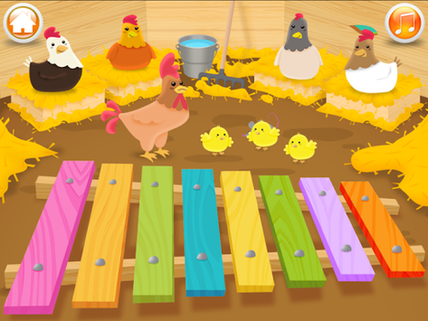 Baby musical instruments APK screenshot 1