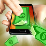Money cash clicker icon