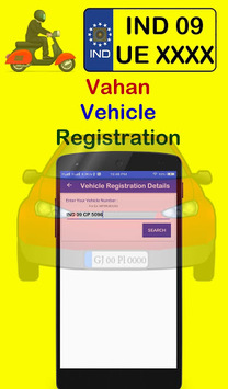 RTO Vehicle Information - Find RTO Vehicle Details APK screenshot 1