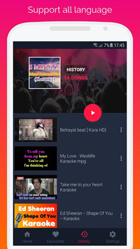 Sing Karaoke 2019 APK screenshot 1