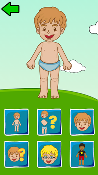 Body Parts for Kids APK screenshot 1
