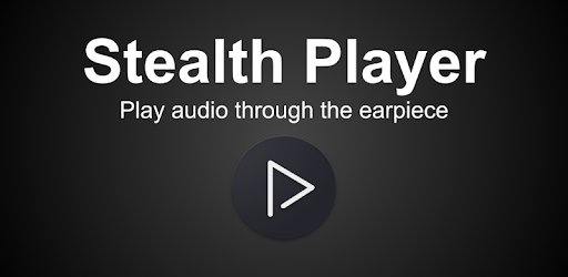 Stealth Audio Player - play audio through earpiece pc screenshot