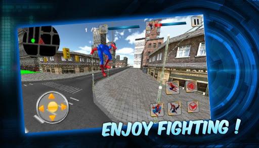 Spider SuperHero VS Incredible Monster City Battle APK screenshot 1