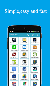 Share apps APK screenshot 1