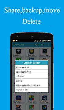 Share apps APK screenshot 1