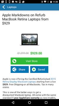 TechBargains: Deals & Shopping APK screenshot 1