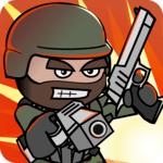 Doodle Army 2 : Mini Militia for pc icon