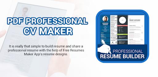 use professional resume maker  u0026 cv builder