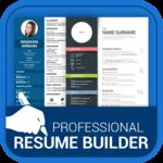Professional Resume Maker & CV builder- PDF format icon