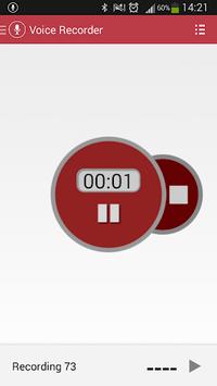 Voice Recorder APK screenshot 1