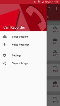 Automatic Call Recorder APK screenshot 1