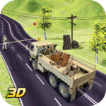 Army Cargo Truck - Army Truck Driving Simulator 3D icon