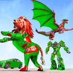 Dragon Robot Car Game – Robot transforming games icon