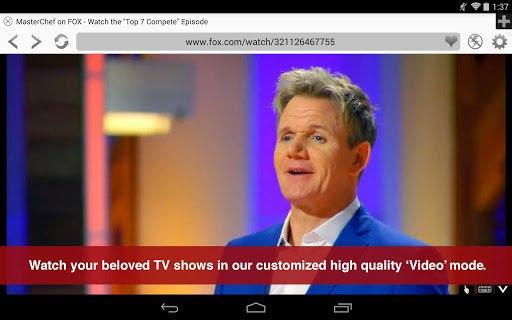 Photon Flash Player & Browser APK screenshot 1
