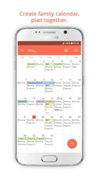 Family Shared Calendar: FamCal APK screenshot 1