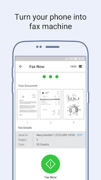 Tiny Fax - Send Fax from Phone APK screenshot 1