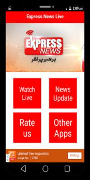 Express News Live APK screenshot 1