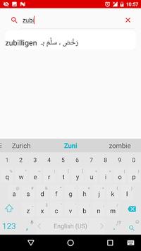 German Verbs Offline APK screenshot 1