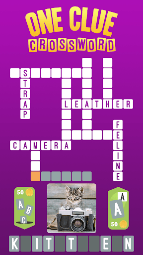 One Clue Crossword APK screenshot 1