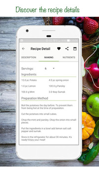 Veganized - Vegan Recipes, Nutrition, Grocery List APK screenshot 1