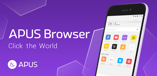 APUS Browser - Fast download & Private & Secure pc screenshot