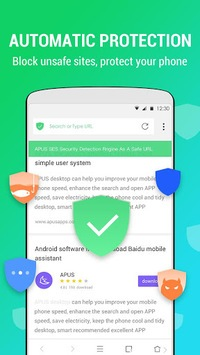 APUS Browser - Fast download & Private & Secure APK screenshot 1