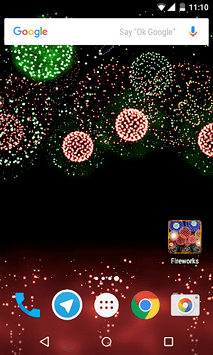 New Year Fireworks 2019 APK screenshot 1