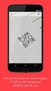 """Official QR Code® Reader """"Q"""" APK screenshot 1"""