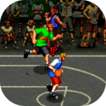 3V3 Basketball game icon