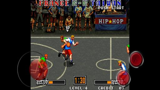 3V3 Basketball game APK screenshot 1